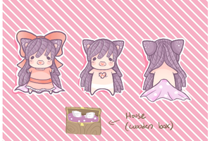 Fabric Sprite: Lavender Doll [Closed] by DanteCries