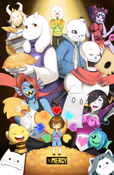 Undertale - Pacifist by PokeyPokums