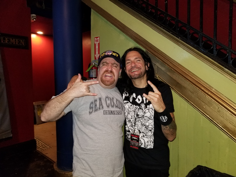 me with Tommy Victor of Prong by ATwistintheMyth