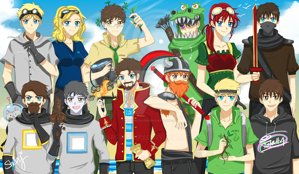 The Yogscast! A Bright and Early Morning by MidnightSoiree