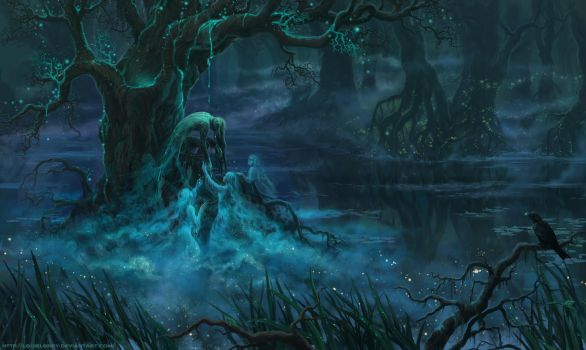 Swamp by LouieLorry