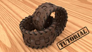 Leather Bracelet (Cinema 4D Tutorial) by NIKOMEDIA