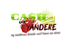 Cash vs Yandere Logo by CorenB