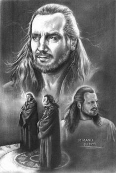 Qui-Gon Collage 2 by enednoviel