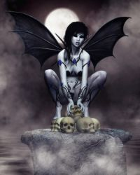 Unseelie - the Unblessed Fae by RavenMoonDesigns