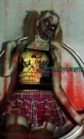 Hoola Hoop Zombie girl Visual Eye Candy by VisualEyeCandy