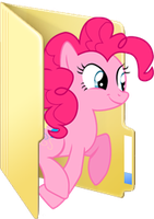 Custom Pinkie Pie folder icon 2 by Blues27Xx