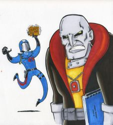 Destro's private hell is not his mask by Underburbs