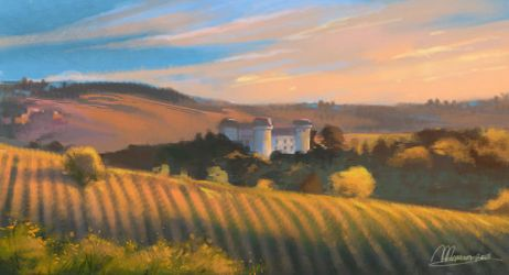 Landscape by mary-dreams