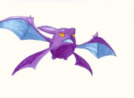 Pokemon Artwork: Crobat