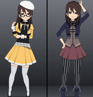 Berets and Goggles [outfits w/ exports] by McCoitis