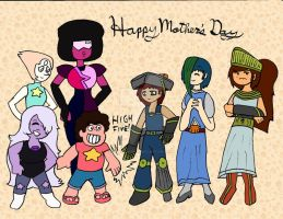 Hephaestus 2015 Mother's Day Steven Universe theme by Selecthumor