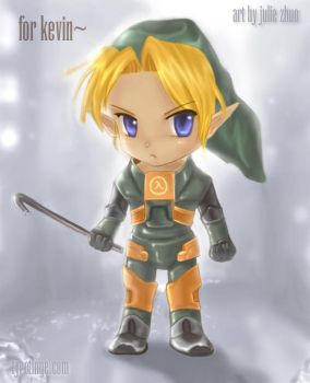 HalfLife 2- A Link to the Past by joulee