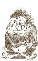 Daily Sketch: The Optimistic Pervert by Hunchy
