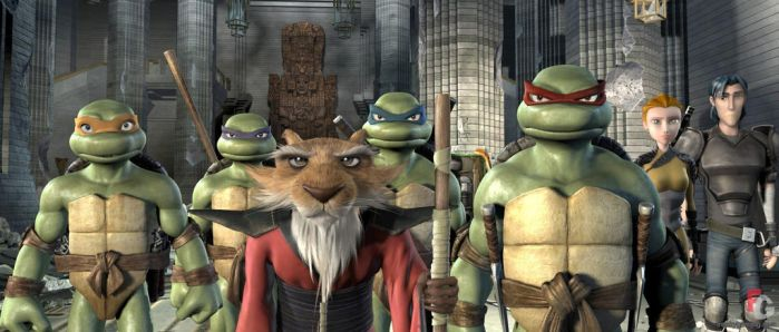 TMNT 2007 (1001 Animations) by SofiaBlythe2014