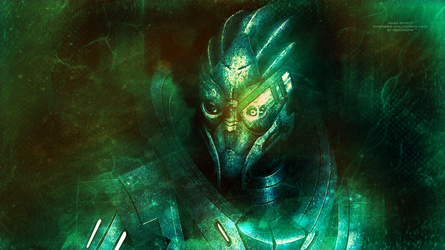 Mass Effect Synthesis Wallpapers Garrus (2014) by RedLineR91