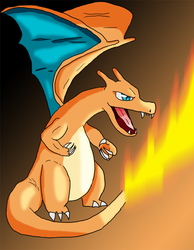 PokeSeries (Digital) #006 Charizard by TwiggyTwix