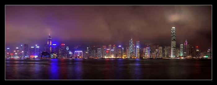 HK II - Hong Kong Skyline by cody29