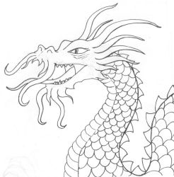 drawing for dragon by BungZ