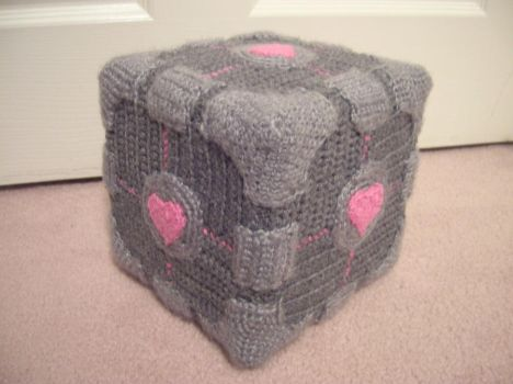 Companion Cube by Zikaeqs