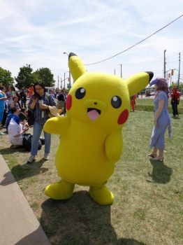 Anime North 2015 - Pikachu by yulittle