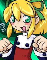 Roll Classic Mega Man by rongs1234