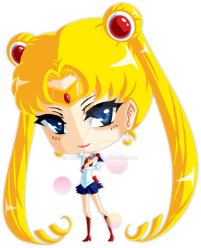 Sailor Moon by Aniteen9