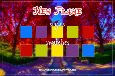 New Flame by DollyTutoriales by DollyTutoriales