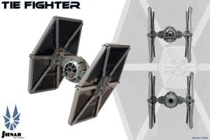 TIE Fighter by Scharnvirk