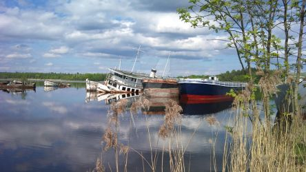 Norrkoping boat cemetery