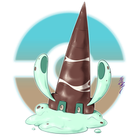 Coldiconic, the Dripping Fakemon by Aalacer