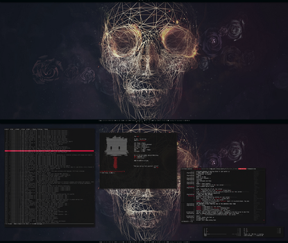 [arch] [awesome] September 2013 Desktop by f-s0ciety