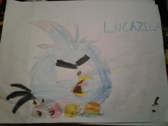 lucazilla episode out now! by bluejay5678