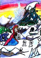Anna in the Mountains by SonicClone
