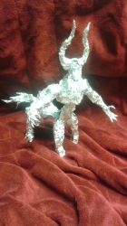 Tirek - Aluminum Foil Sculpture by TheFoilGuy