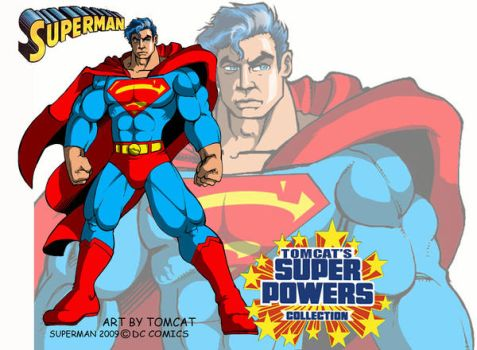 Superman The man of Steel by tomcat13