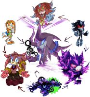 Hexafusion: Deities by rae-gal