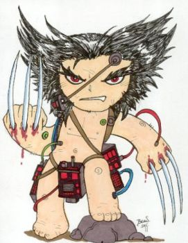 Chibi-Weapon X. by hedbonstudios