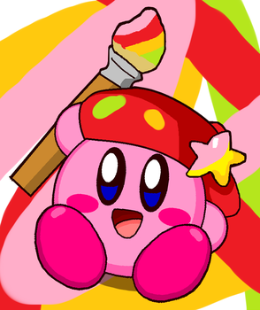 Paint Kirby by cuddlesnam