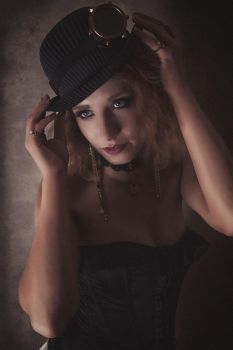 Steampunk Portrait by Suitcasefotografie