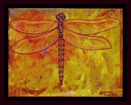 Dragonfly Bug Insect Wings bugs winged yellow by StephanieSmall