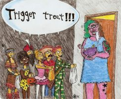 Trigger treat by Fernoll