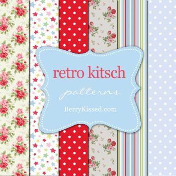 Retro Kitsch Patterns by BerryKissed