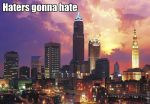 Cleveland haters gonna hate by Cutienyaharts