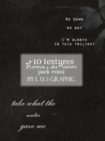 Florence + the Machine quote - textures by lusG