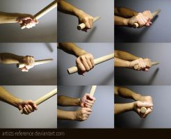Hand - free reference photo set 03 by artists-reference