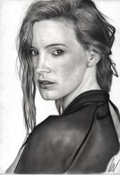 Jessica Chastain by WeskerGray