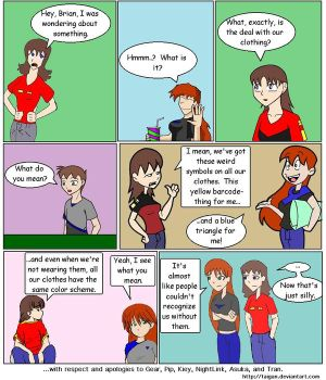 AG Fancomic 'Wonder Why...' by Taigan