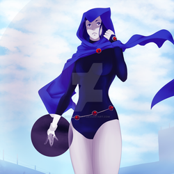 Teen Titans Raven by SusukaSpirit