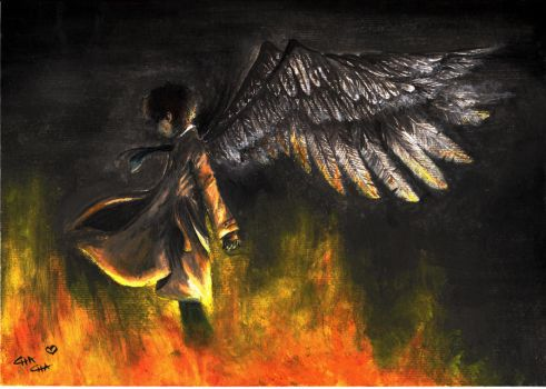 Castiel: Angel of the Lord by Chari-Lou